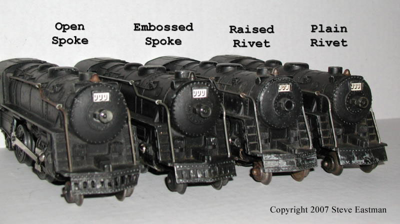 MarxTinplateTrains com -- Guide to Marx Locomotives
