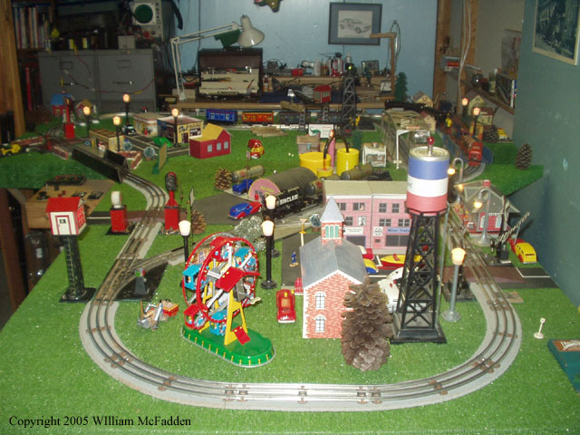 Marxtinplatetrains Com Toy Train Layout