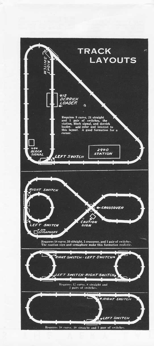 page 21, track layouts